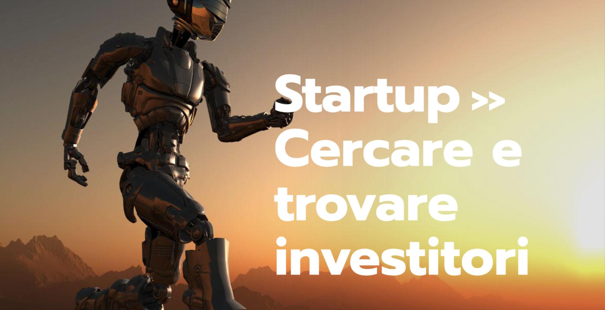 trovare investitori per la propria startup